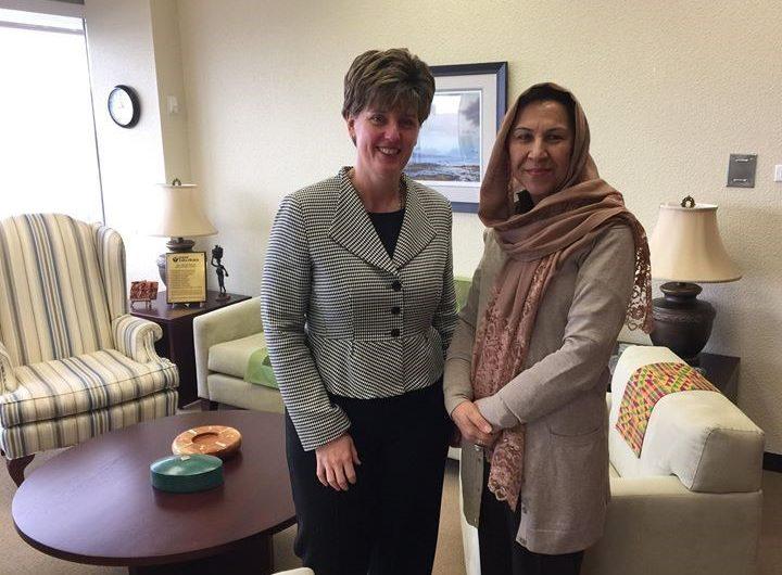 Ambassador Karokhail meets with Marie-Claude Bibeau, Minister of International Development and La Francophonie of Canada