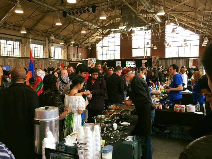 PARTICIPATION AT FUNDRAISING CULTURAL FOOD EVENT