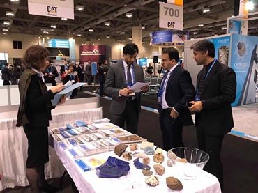 Afghanistan's Participation in PDAC Mines Exhibition Show