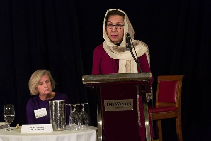 "Ambassador Karokhail participated in ""Unfinished Business: The Ottawa Treaty at 20"" Panel Discussion"