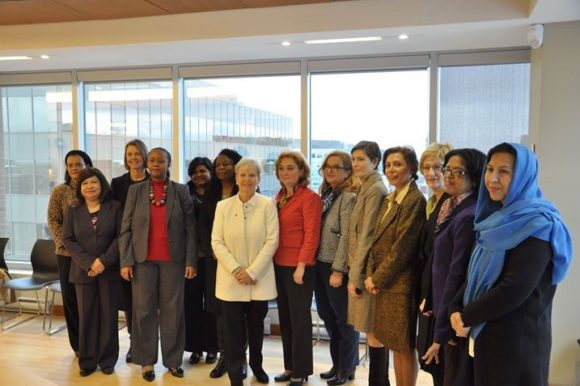 Afghanistan Ambassador Participates in the General Meeting of the Women Ambassadors of Ottawa Association