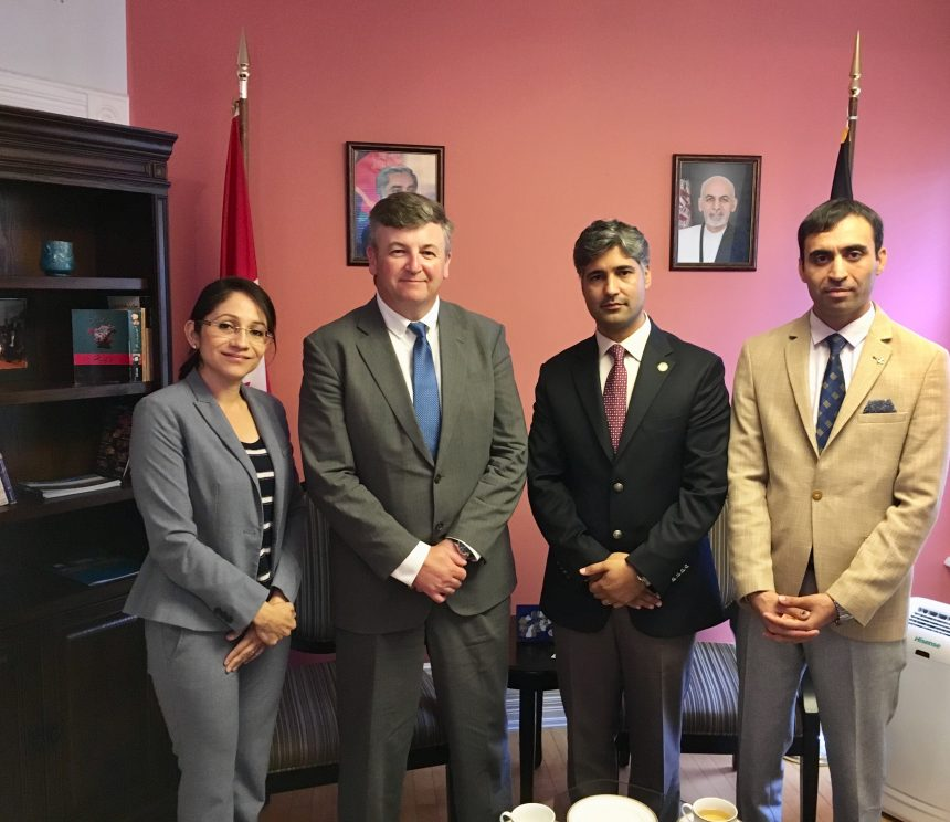 Meeting with  Mr. Steve Tipman, Executive Director of the Trade Facilitation Office Canada (TFO)