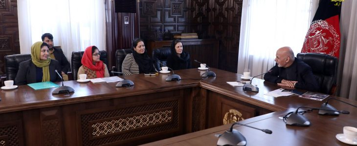 President Ghani: female entrepreneurs will be empowered by the government